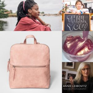 Company Memo: Blush Handbags, Master Classes, and a Poet Laureate