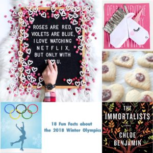 Company Memo: Valentine DIY, Winter Olympics for Kids, and Letter Board Love