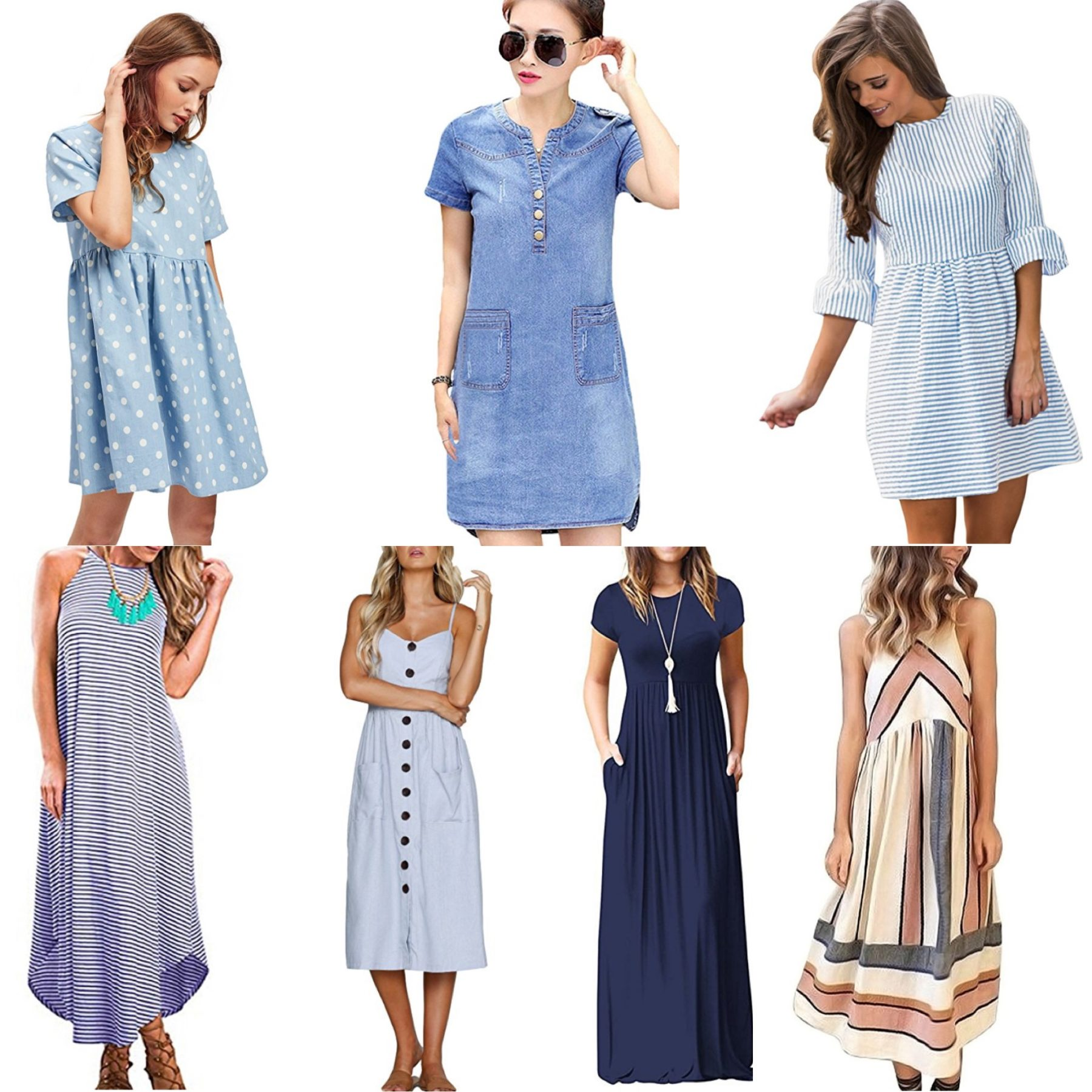 Moody Blues: 7 Dresses Under $30 to Have You Ready for Summer
