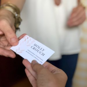 A Girl Can Change Her Mind: Making It Official with Simple Business Cards
