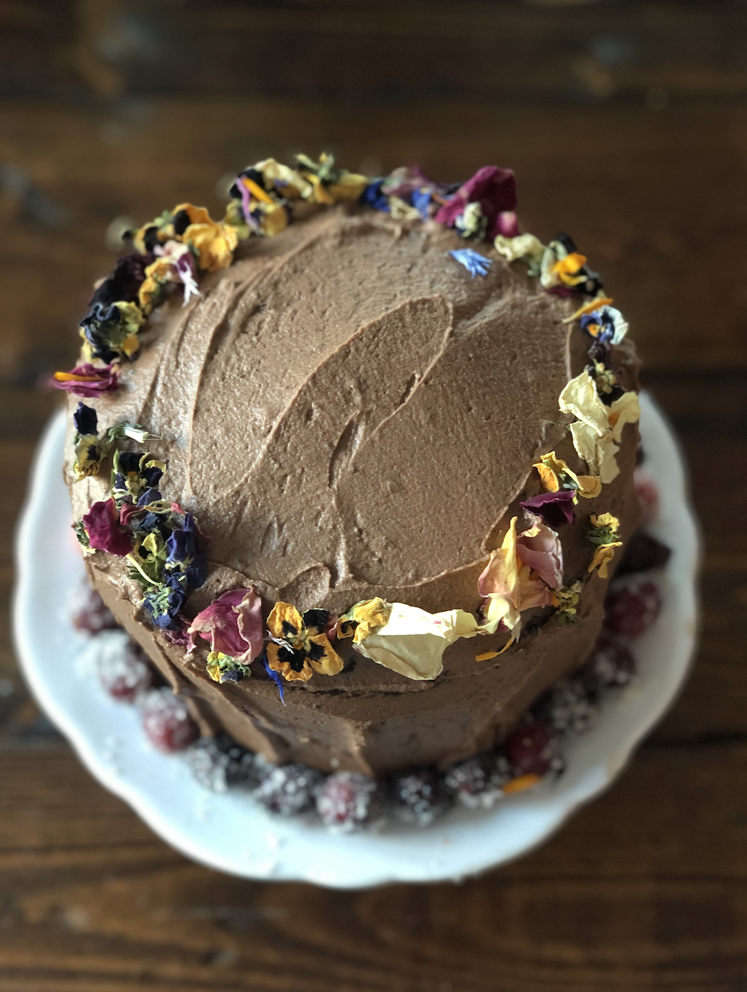 Vegan Chocolate Cake: A Love Story